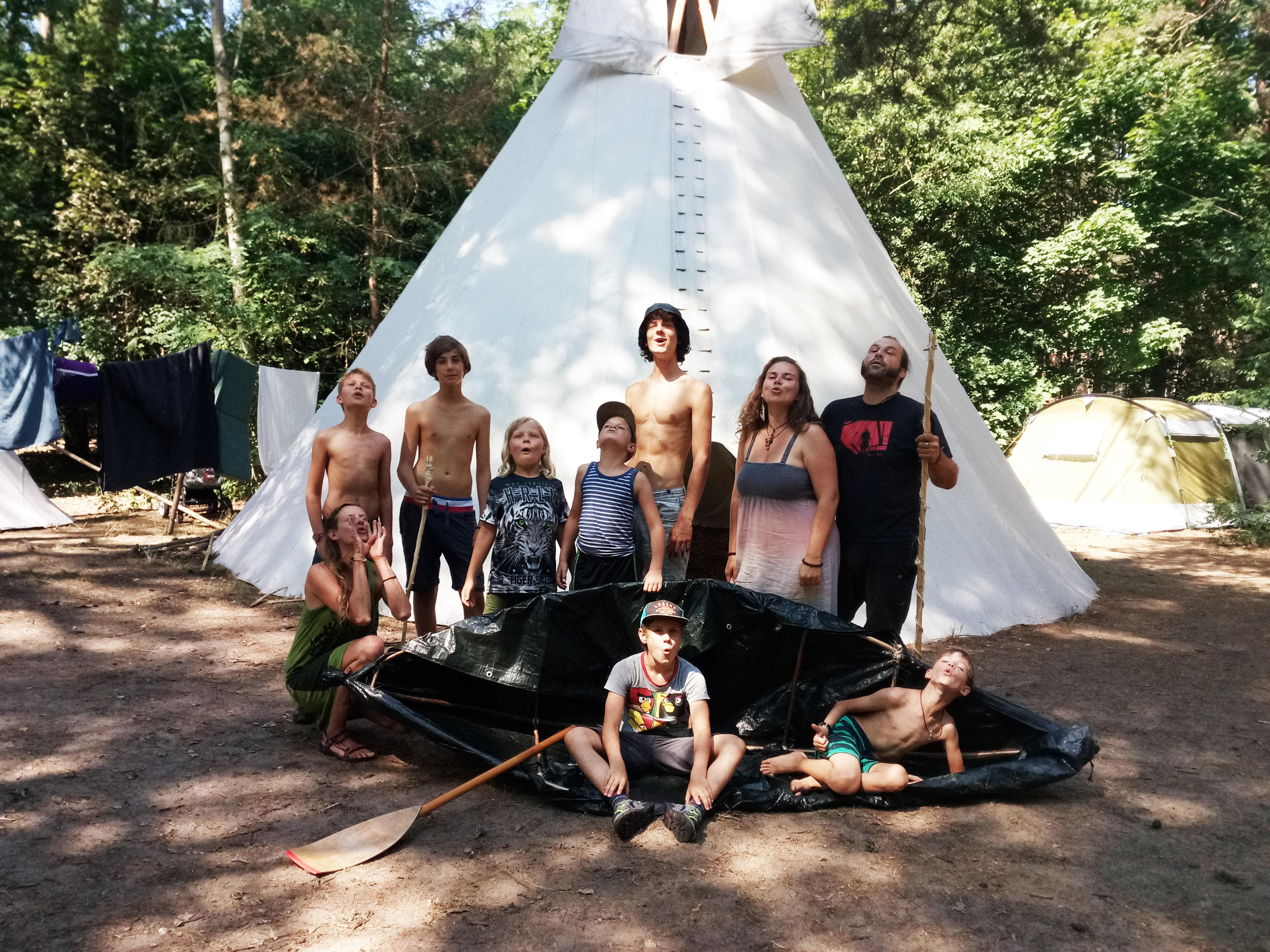 Kindercamps Wilde Spuren