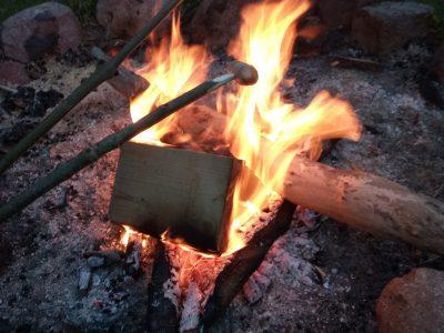 Feuer Wilde Spuren