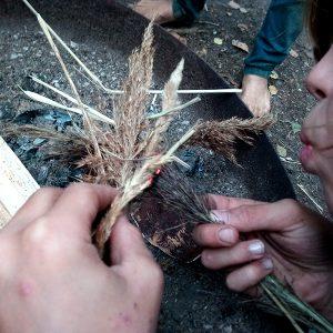 Wildnispädagogik Wilde Spuren
